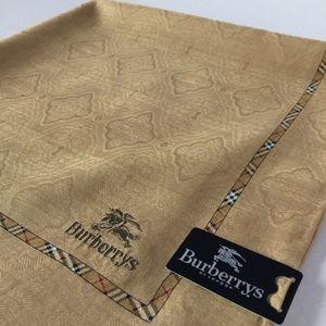 Burberrys of London new 100% cotton handkerchief